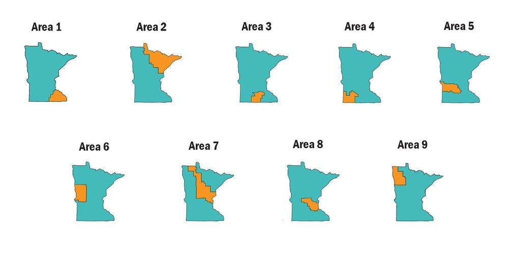 Insurance rate pricing regions
