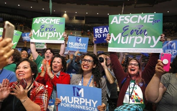 Murphy supporters