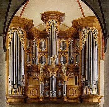 1693 Schnitger organ at the Saint Jacobi Church in Hamburg