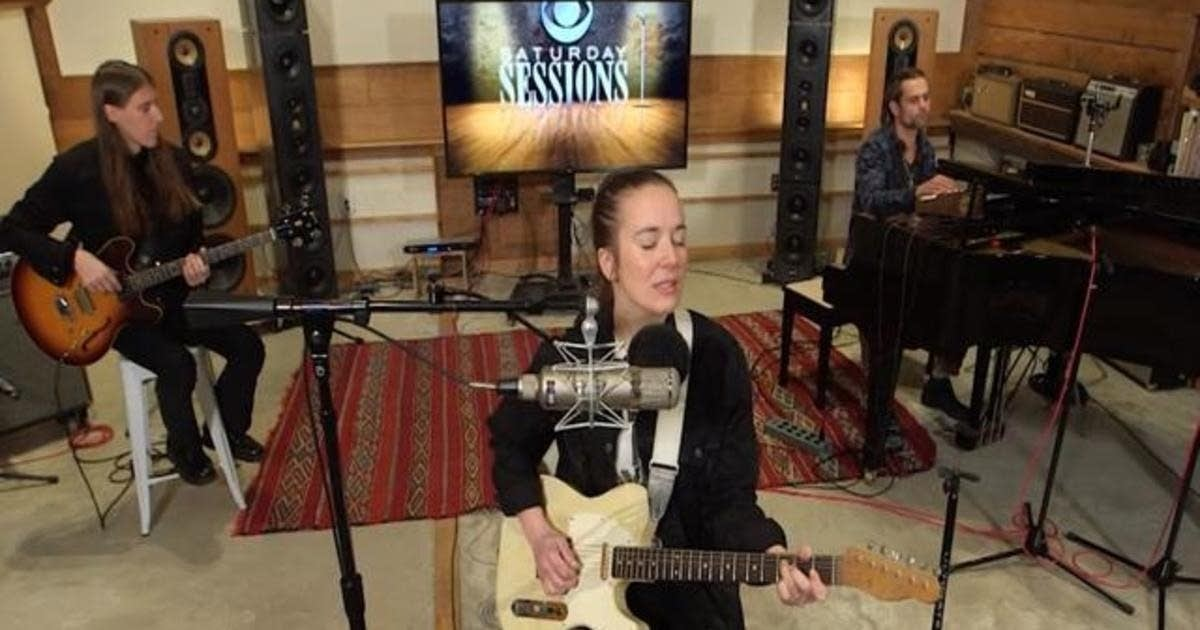 Margaret Glaspy performs on CBS This Morning's Saturday Sessions