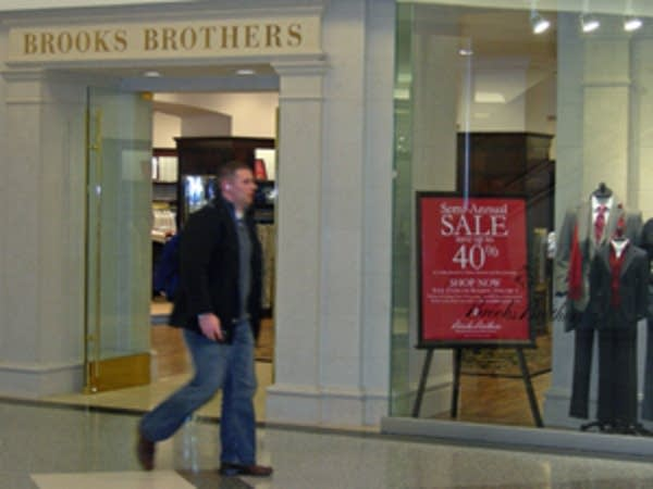 Brooks Brothers recently returned to City Center