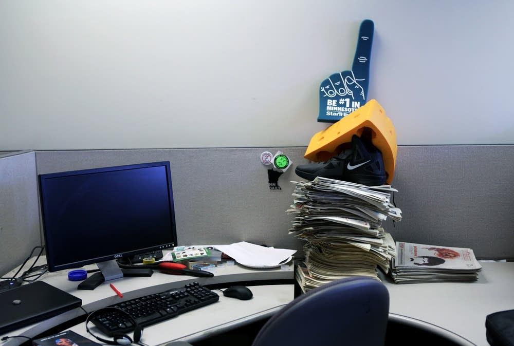 Desk stack