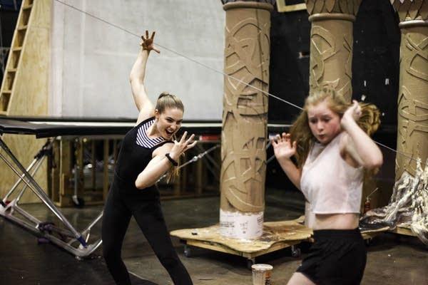 Circus Juventas practice 'Wonderland.'