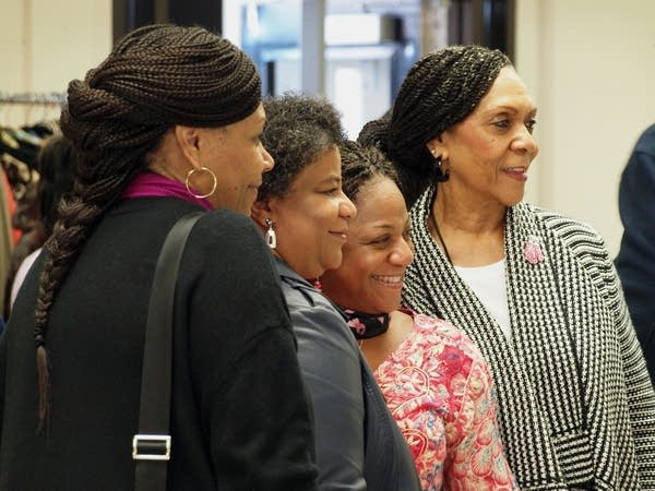 Women at the 2015 Black Women's Expo.