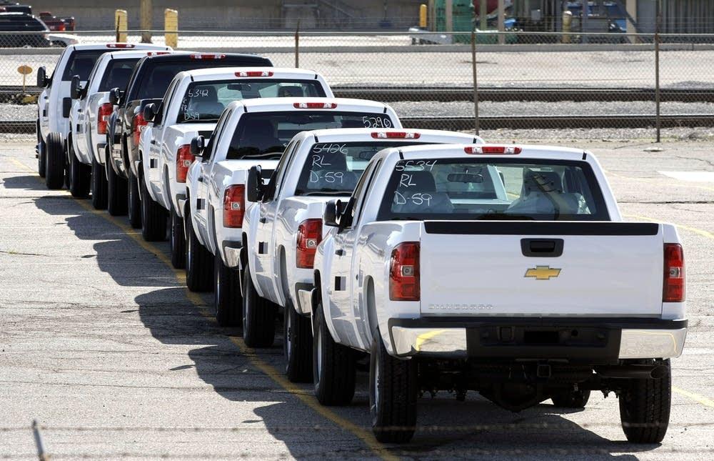 New pickup trucks