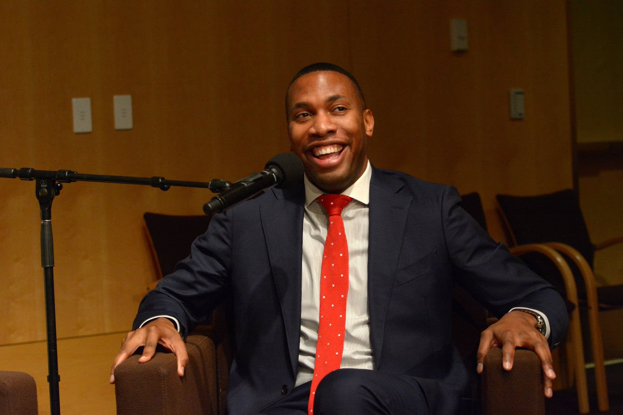 Roderick Cox Forum Event at MPR