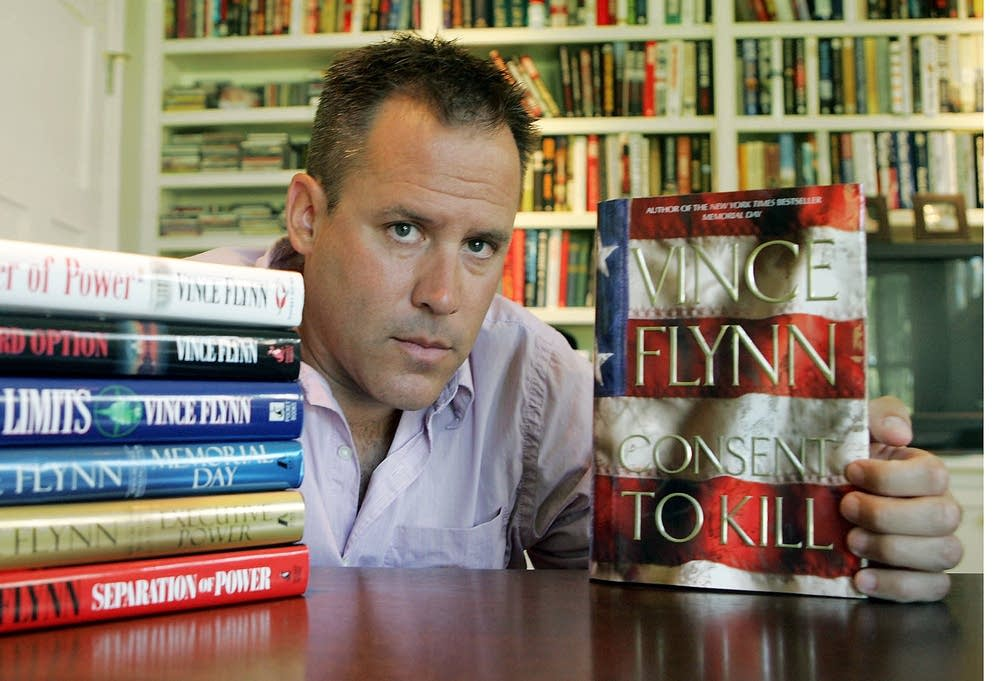 Best-selling author Vince Flynn