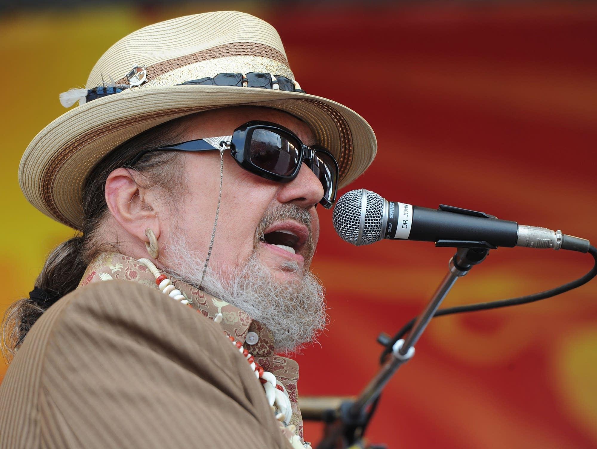 New Orleans music legend Dr. John