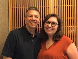 Music with Minnesotans host Steve Staruch with Becca Chapin