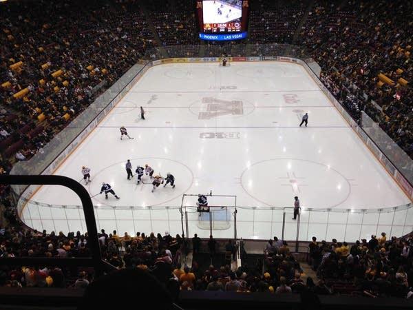 minnesota gophers hockey