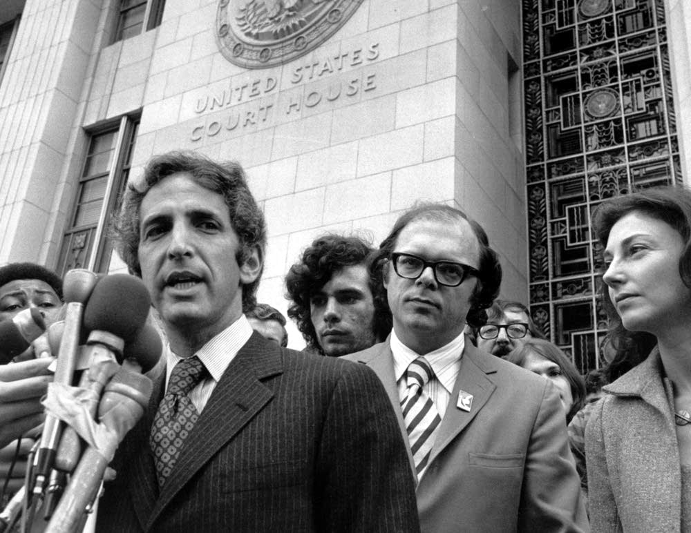 Daniel Ellsberg, who leaked the Pentagon Papers to