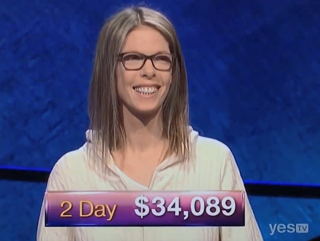 Jackie Fuchs, formerly of the Runaways, on 'Jeopardy!'