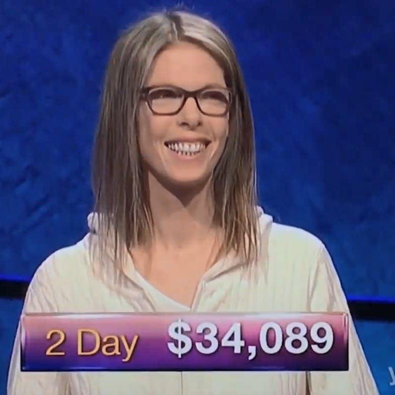 Jackie Fuchs, formerly of the Runaways, on 'Jeopardy!'