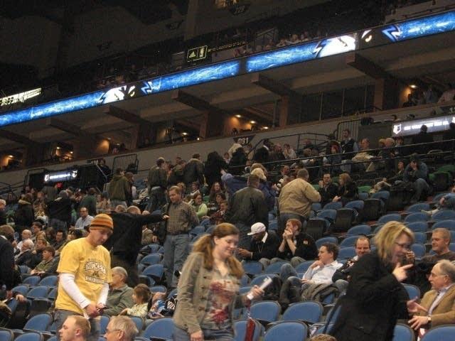 Timberwolves fans