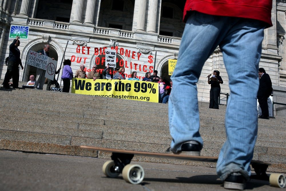 Occupy Minneapolis rally