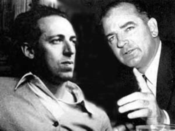 the political career of senator joseph mccarthy Joseph mccarthy, left, and his counsel roy cohn at a hearing of the  early in  his political career kennedy, who later was a us senator from.
