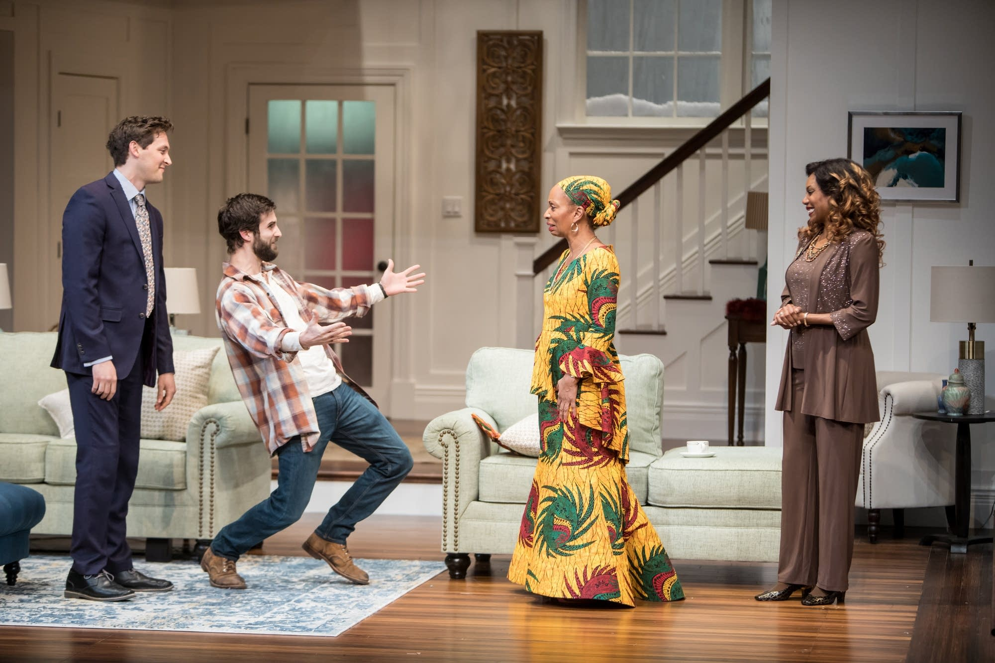 'Familiar' deals with cultural identity, tradition and assimilation.