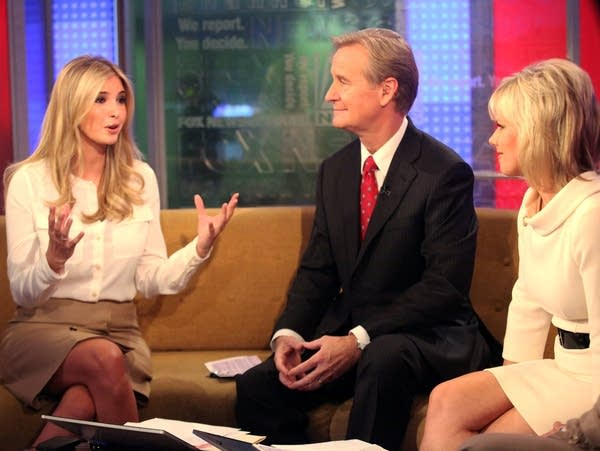 "Gretchen Carlson on ""FOX & Friends"" with Ivanka Trump"
