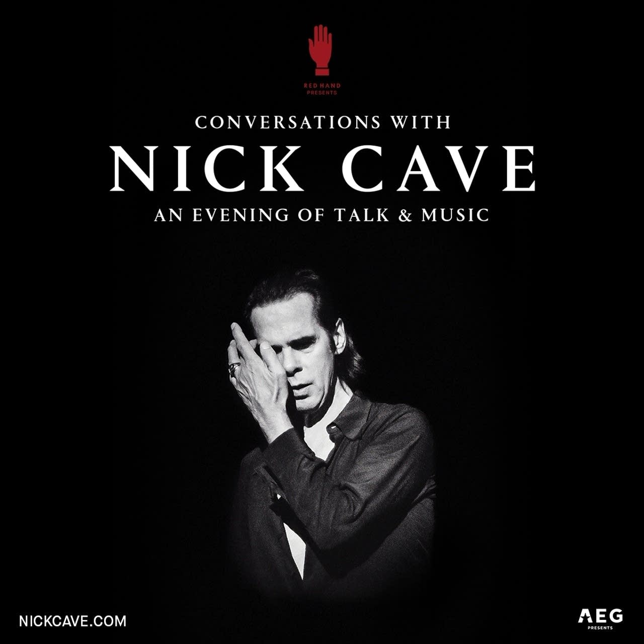 Nick Cave an evening of talk and music