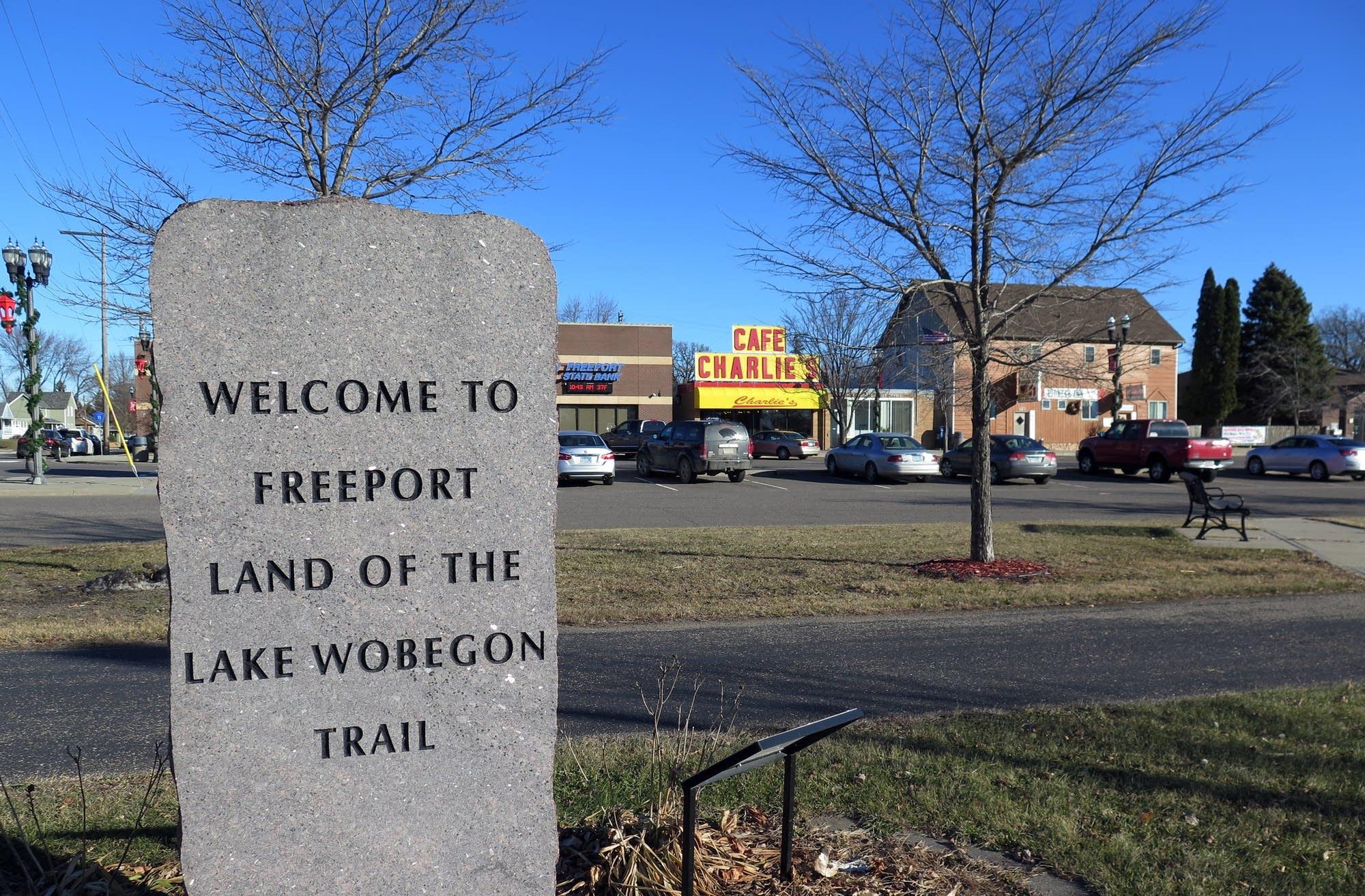 The Lake Wobegon Trail runs through Freeport.