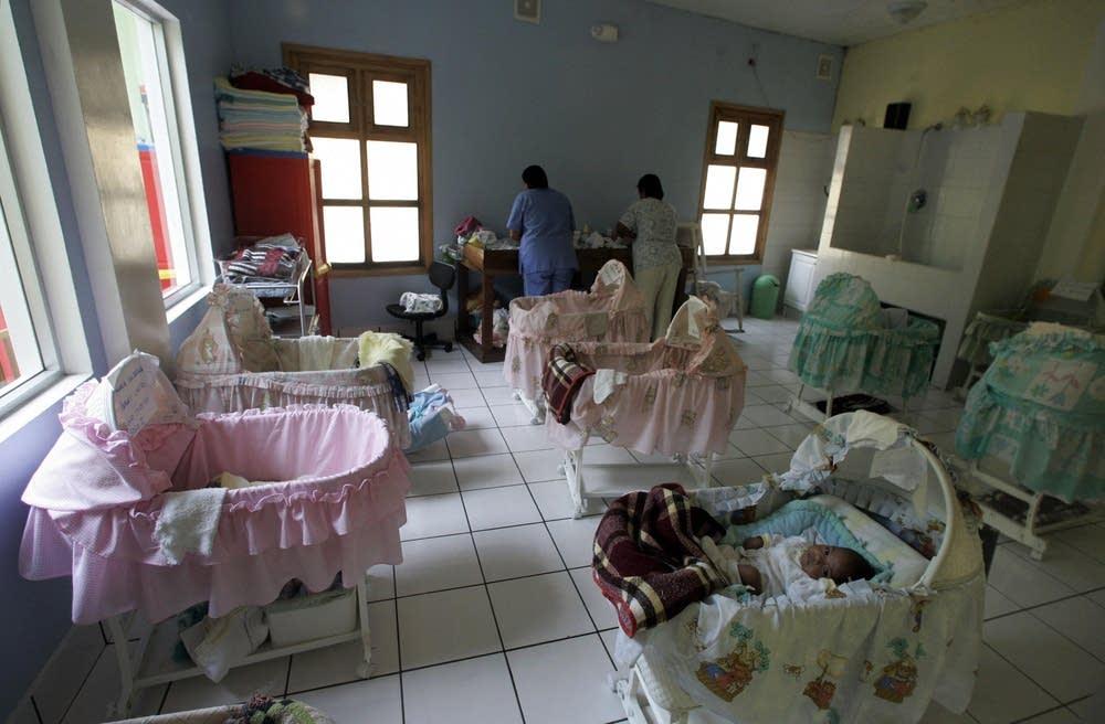 Clandestine orphanage