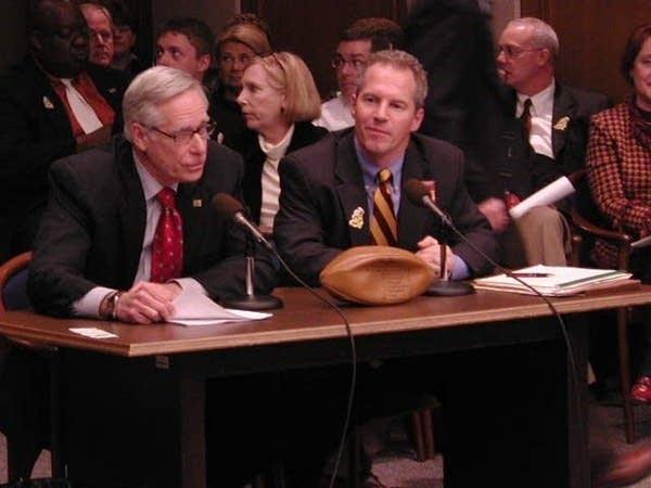 Bruininks testifies