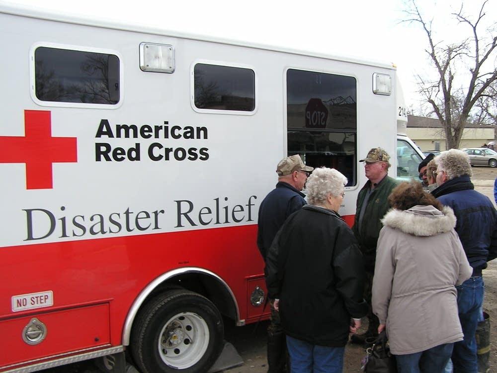 Red Cross van