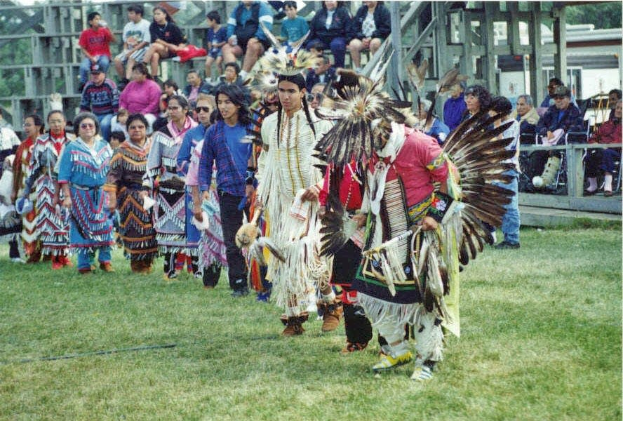Recent Red Lake pow wow