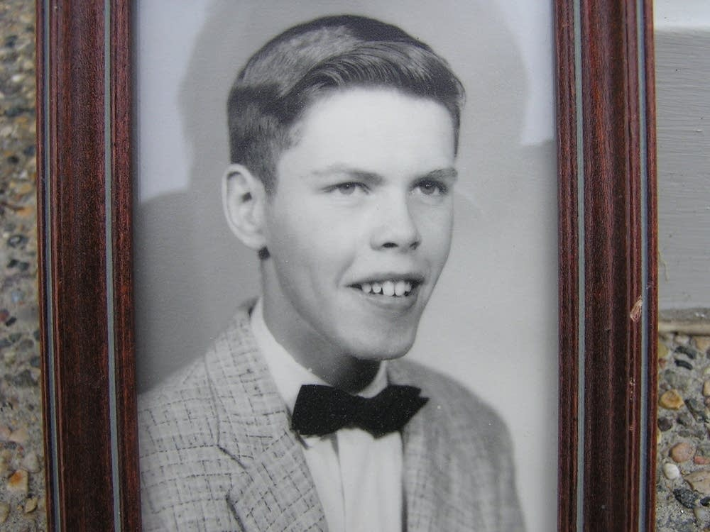 Palmer in high school