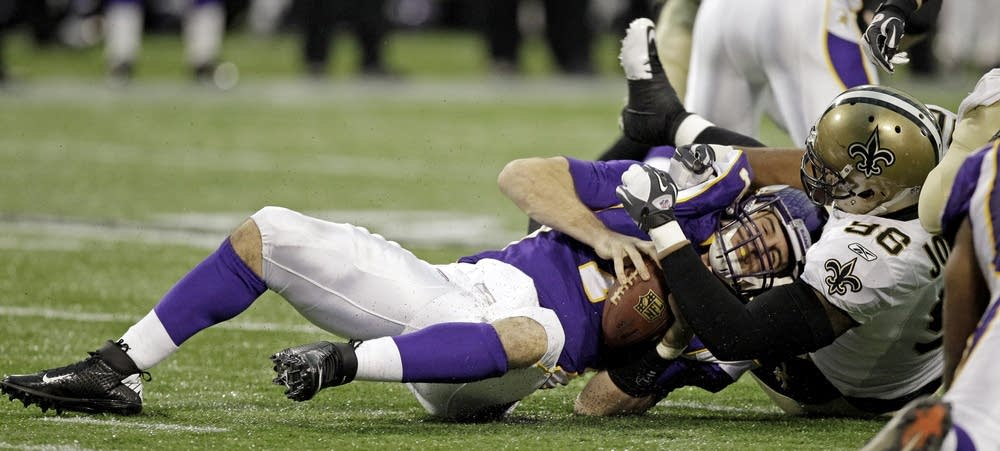 Christian Ponder is sacked