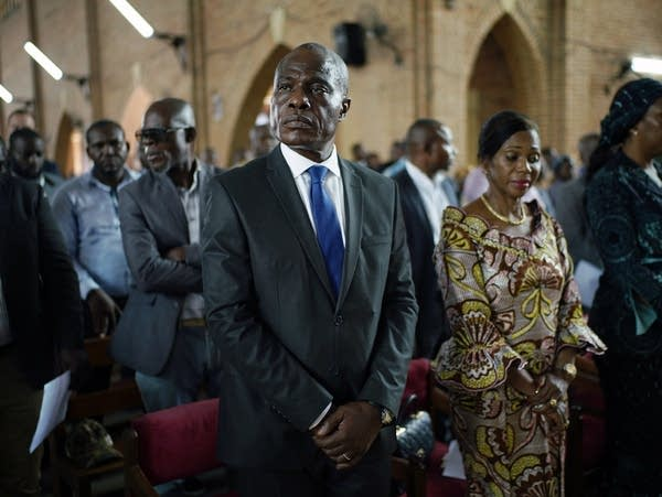 Congolese opposition presidential candidate Martin Fayulu