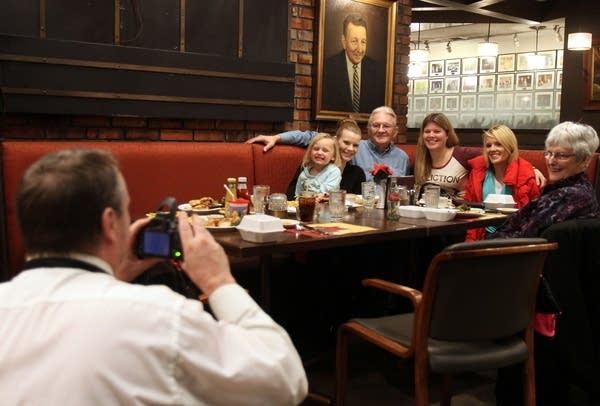 Tieman family at Michael's