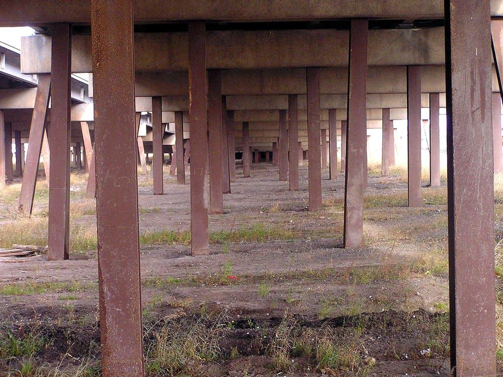 Steel pilings