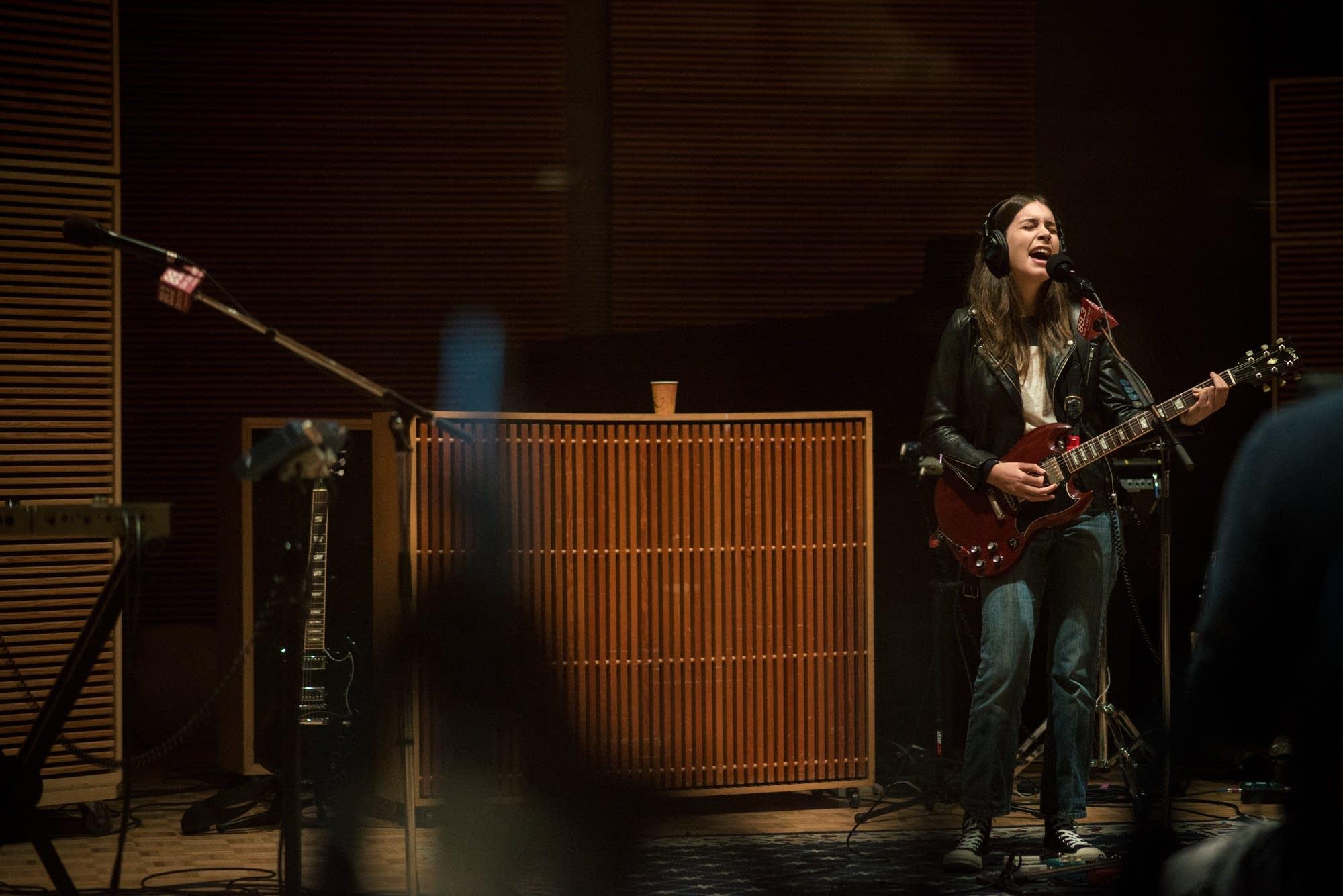haim in studio 2