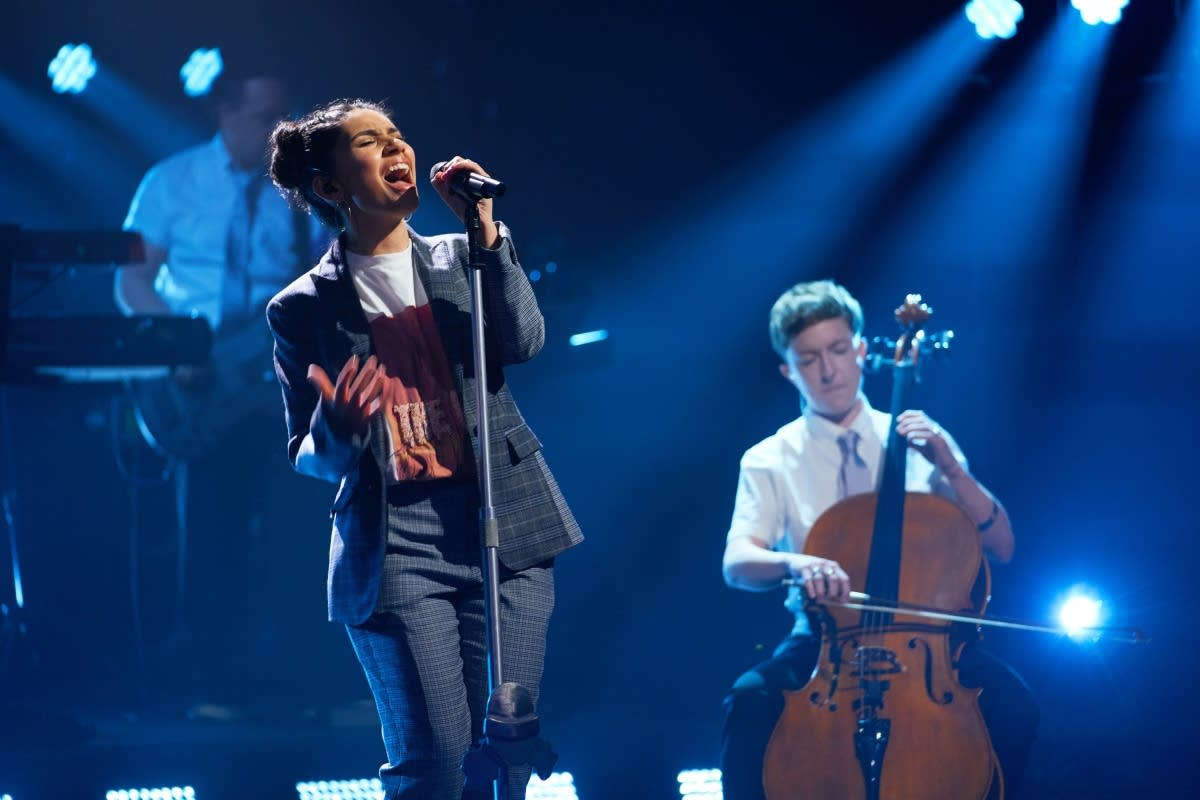 Alessia Cara performs on 'The Late Late Show with James Corden'