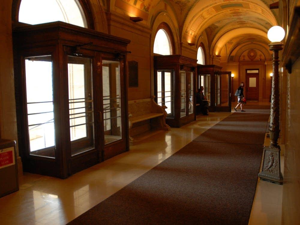 Capitol front entrance