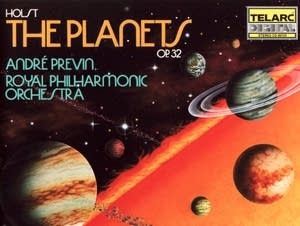 Andre Previn's Telarc recording of Holst's 'The Planets'