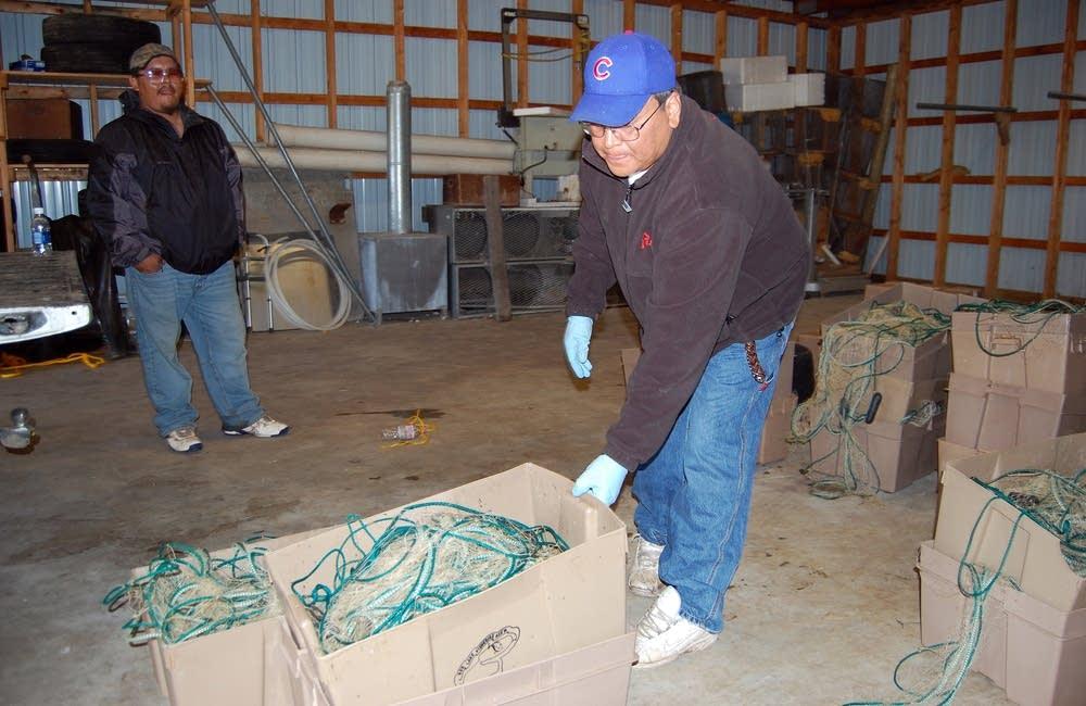 Preparing nets