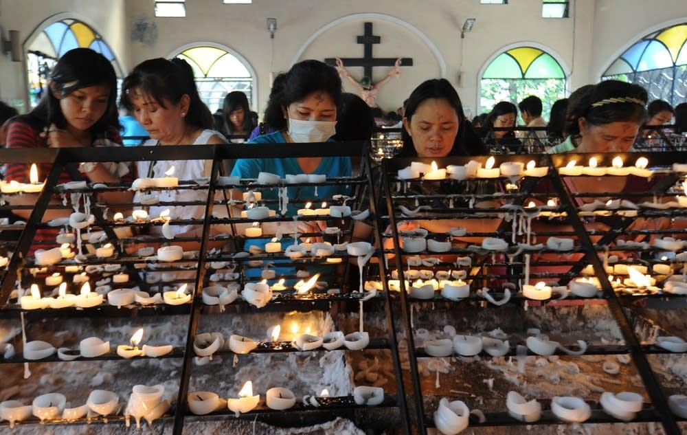 Philippine Roman Catholic faithfuls