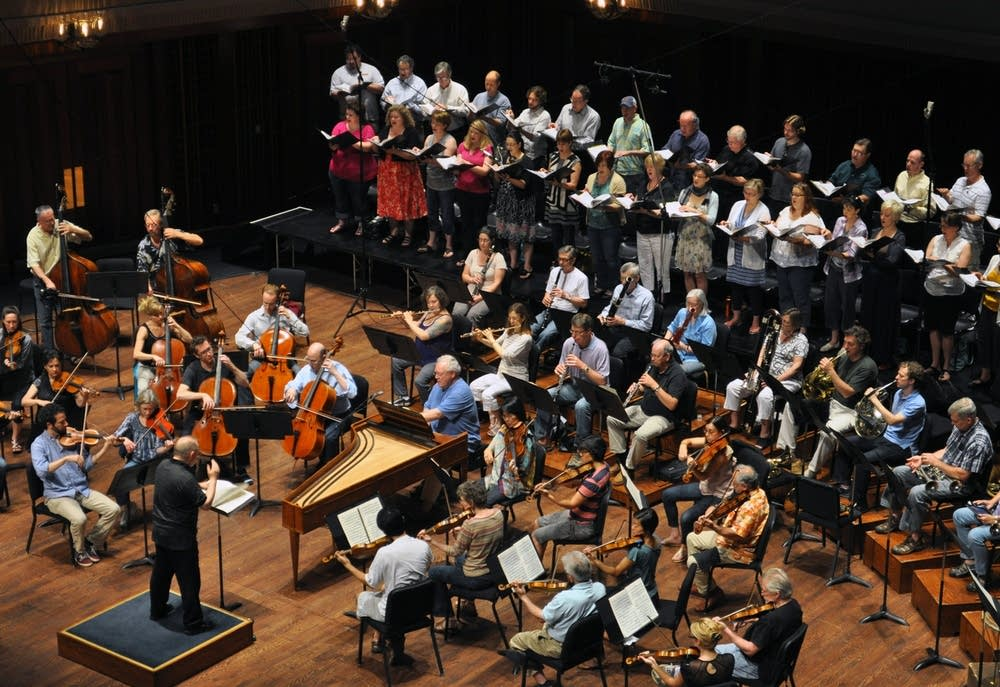 Rehearsal for Haydn's The Seasons