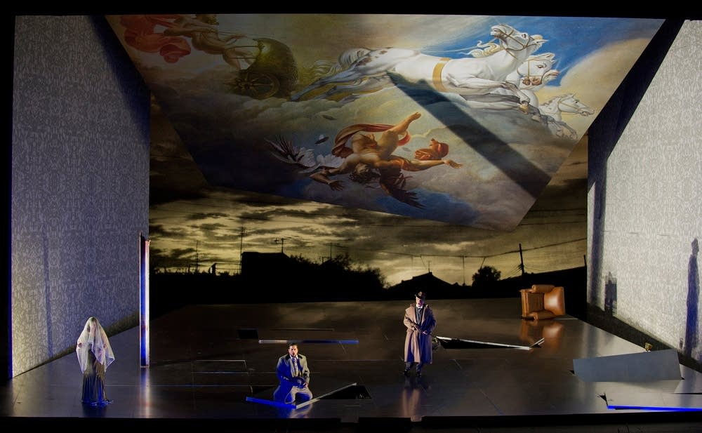 A scene from Verdi's Un Ballo in Maschera