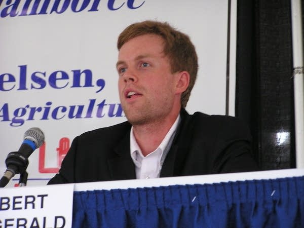 Independence party candidate Robert Fitzgerald