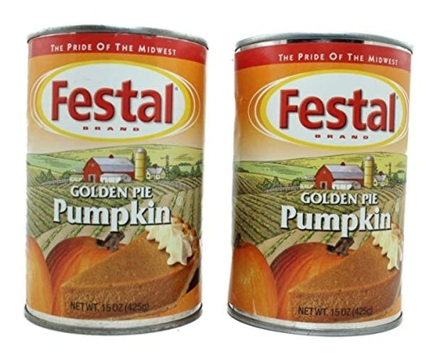 Festal Foods' Golden Pie Pumpkin