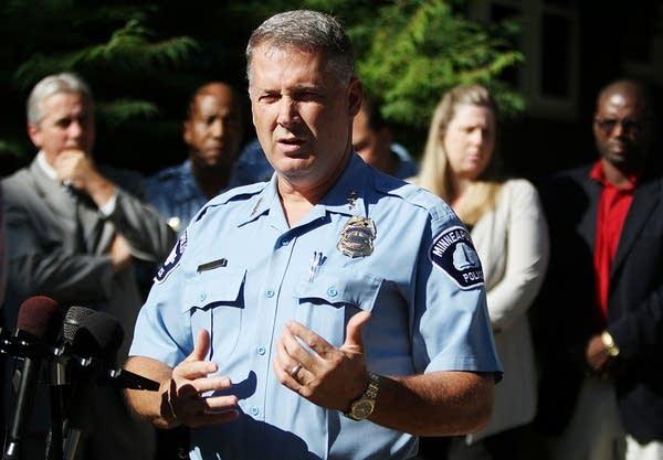 Minneapolis Police Chief Tim Dolan