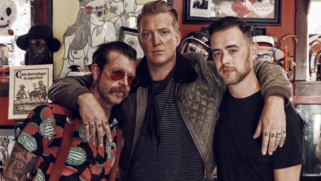 Jesse Hughes, Josh Homme, Colin Hanks.