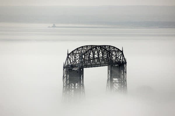 Fog and the bridge