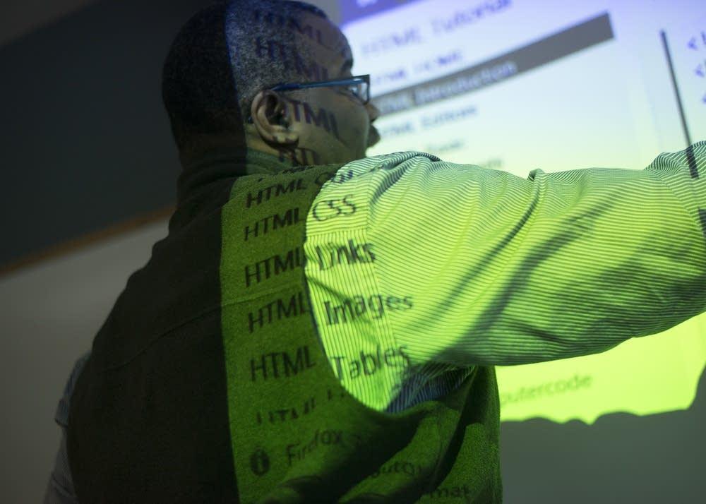 Headley Williamson explains HTML coding.