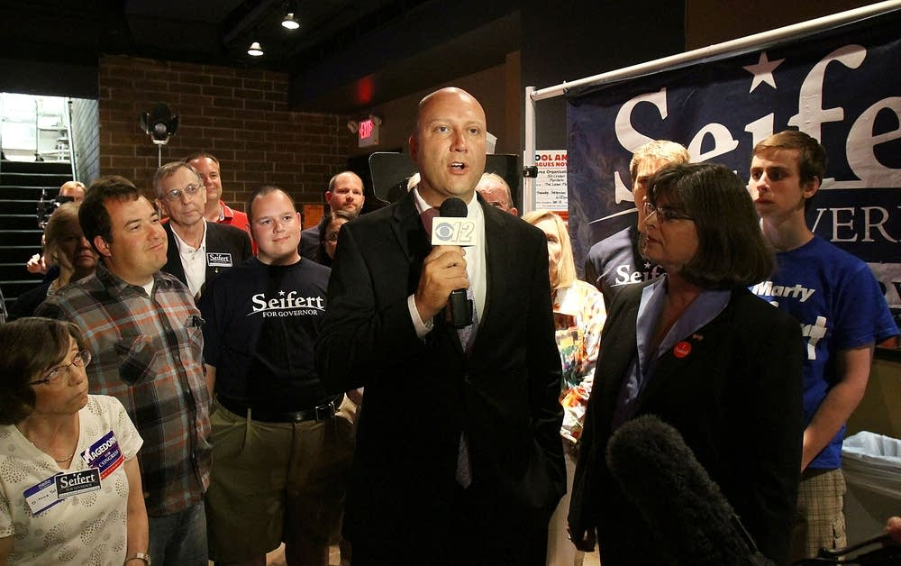Marty Seifert concedes