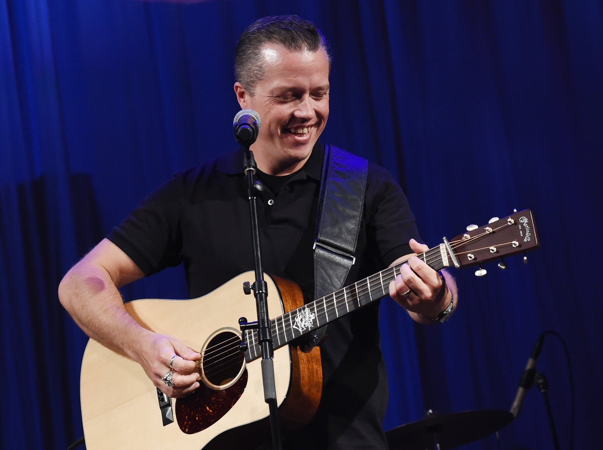 Jason Isbell performs