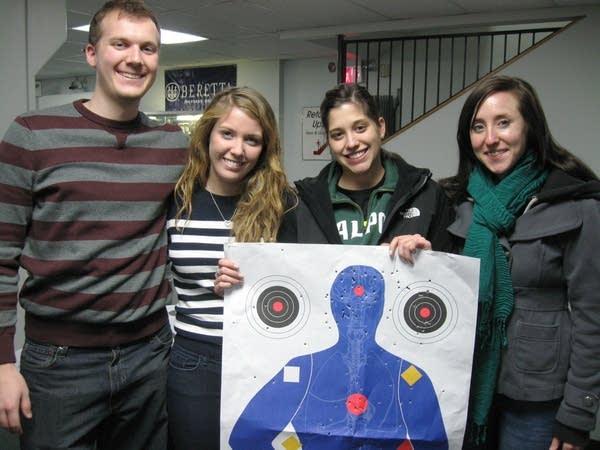 Ladies' night at the range